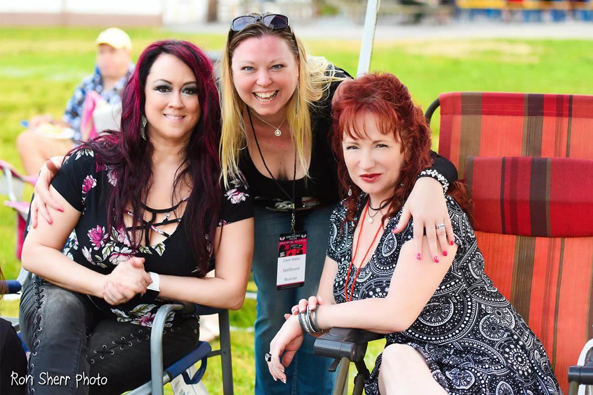 Sharon Lia Dawn Walter Kelly Callan originating members of group
